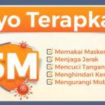 Mendukung Vaksinasi dan Disiplin Prokes 5M