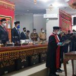 Waris Basuki Resmi Jabat Wakil Ketua DPRD Kabupaten Lampung Selatan
