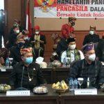 Wakil Bupati Lampung Selatan Ikuti Upacara Hari Lahir Pancasila Secara Virtual dengan Presiden Jokowi