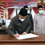 Sah! DPRD Kabupaten Lampung Selatan Setujui Raperda Pertanggungjawaban APBD TA 2020
