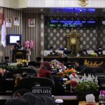 DPRD Way Kanan Gelar Paripurna Penyampaian Raperda Tahun 2020