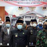 Nanang Ermanto Sampaikan Raperda Pertanggungjawaban Pelaksanaan APBD TA 2020 Ke DPRD Secara Virtual