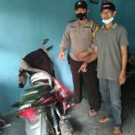 Dua Warga Desa Trans Tanjungan Temukan Motor Tak Bertuan Di Kebun Sawit