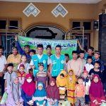 Komunitas Ihwan Fillah Bersama Jemaah Masjid Baiturrahman dan Amitul Janah Desa Candi Mas Gelar Bakti Sosial
