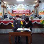 Bupati Lampura Hadiri Rapat Paripurna DPRD Bahas Pertanggungjawaban Pelaksanaan APBD 2020