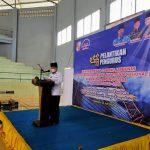 Suripto M di Daulat Ketua DPC Aspeknas Lampura, Bupati : Aspeknas dapat Bersinergi Bersama Pemerintah Daerah