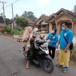 Antisipasi Penyebaran Covid-19, Pekon Binjai wangi Kecamatan Pugung Lakukan penyemprotan Disinpektan