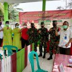 TNI AD Kodim 0412 LU Laksanakan 1 Juta Vaksin Bagi Masyarakat Lampura