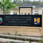 Kantor UPTD PU Katibung Kosong Melompong,Diduga Pegawai UPT Jarang Masuk