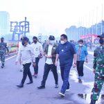 Irjen TNI Tinjau Latihan Prajurit Satgultor TNI di Gedung DPR MPR RI