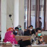 Sekda Thamrin Ikuti Rapat Evaluasi Penanganan Covid-19 Bersama Pemerintah Provinsi Lampung