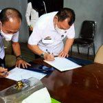 Sertijab Sekretaris Dewan DPRD Kabupaten Lampura