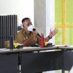 Rapat dengan Gubernur Lampung, Nanang Sampaikan Kondisi Terkini Penanganan Covid-19 di Lampung Selatan
