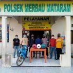 Unit Reskrim Polsek Merbabu Mataram, Amankan Pelaku Pencuri Mesin Pompa Air