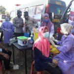Polres Way Kanan Gelar Vaksinasi Keliling