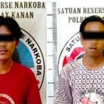 Diduga Edarkan Sabu,Dua Pemuda Diamankan Polisi