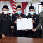 DPRD Sahkan RPJMD Kabupaten Lampung Selatan Tahun 2021-2026 Jadi Peraturan Daerah