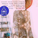 Lastri, Pembatik Anggota Apindo Manfaatkan Ranting Sungkai Jadi Pewarna Batik Aduhai!