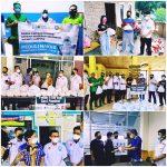 Solidaritas Tanpa Batas: Apindo, Yayasan Alfian Husin, PBL, Minang Indah & Jejaring, Peduli Nakes, Isomaner, Difabel, dan Duafa