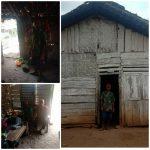 Dililit Kemiskinan, Duda Bersama Lima Anaknya Tinggal di Rumah Reot