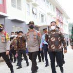 Kapolda Lampung Apresiasi Pemkab Lampung Selatan Yang Siapkan Tempat Isolasi Covid-19 Terpusat