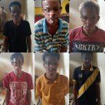 Tengah Asik Judi Kartu, Enam Orang Pria di Gelandang ke Polsek Abung Barat