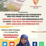 Semarakkan Dan Sukseskan PON XX Papua, Komunitas FPMSI Gelar Deklarasi Dukungan Virtual