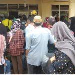 PPKM Tak Dihiraukan, Penyaluran BST Di Menggala Timbulkan Kerumunan Warga