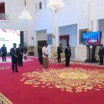 Panglima TNI Hadiri Penganugerahan Tanda Kehormatan Republik Indonesia