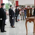 Bupati Lampung Selatan H. Nanang Ermanto Lantik Enam Pejabat Eselon II Hasil Lelang Terbuka
