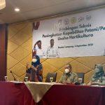 Kembangkan Agribisnis Durian, Anggota DPR RI Dwita Ria Gelar BIMTEK Hortukultura