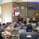 DPRD Way Kanan Gelar Paripurna Penyampaian Rancangan Perubahan KUA Dan PPAS Th 2021