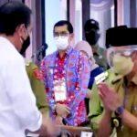 Bupati Pringsewu Hadiri Acara Pengarahan Presiden Jokowi