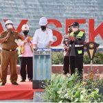 Jokowi meresmikan Bendungan Way Sekampung, Turut didampingi Anggota DPR-RI Komisi V