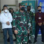 Panglima TNI : Terima Kasih Nakes Yang Telah Bertugas Tanpa Kenal Lelah