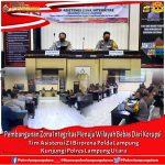 Polres Lampura Kedatangan Tim Asistensi Birorena Polda Lampung