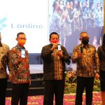 "Pimpin Rapat Umum Pemegang Saham Luar Biasa Bank Lampung, Gubernur Arinal Launching ""L Saving"" dan ""L Online"""