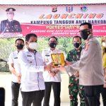 Bupati Way Kanan Hadiri Launching Kampung Tangguh Anti Narkoba