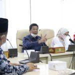 Wakil Ketua III DPRD Lampung, Hearing Bersama Forum Lintas Lembaga Peduli Lingkungan