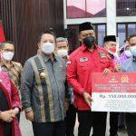Gubernur Lampung Arinal Djunaidi menerima kunjungan kerja spesifik Komisi VIII DPR-R