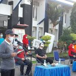 Senam, Warnai Peringatan Hoarnas ke-38 Tahun 2021 di Kabupaten Lampura