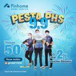 Pesan Pinhome Home Service via Aplikasi Gojek, Menangkan Voucher Belanja Hingga Rp2 Juta di Pesta PHS 9.9!