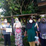 Masyarakat Heboh Ambil Bagian Telur Gratis dari Borong berbagi Rumah Zakat