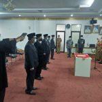 Dewi Handajani Lantik Lima Pejabat Pimpinan Tinggi Pratama Pemkab Tanggamus