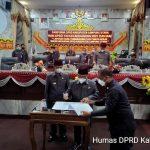 DPRD Gelar Acara Paripurna Lanjutan, Bupati Lampura Sampaikan Nota Keuangan Perubahan APBD dan RAPERDA TA. 2021