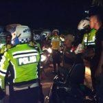 Cegah Ganguan Kamtibmas, Kapolres Lampura Pimpin Patroli Bermotor