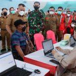 Kejar Target Herd Immunity, Pemkab Lampung Selatan Launching Gebyar Vaksinasi Covid-19 17 Kecamatan di GWH Kalianda