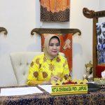 Ibu Riana Sari Arinal Jadi Narasumber Webinar Pengembangan Batik Luar Jawa yang digelar Yayasan Batik Indonesia dan Museum Tekstil Jakarta