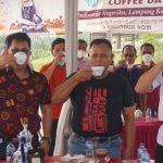 Peringati Hari Kopi Sedunia, Nanang Ermanto Ngopi Bareng dengan Gubernur Secara Virtual